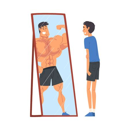 Look for postural imbalances in the mirror